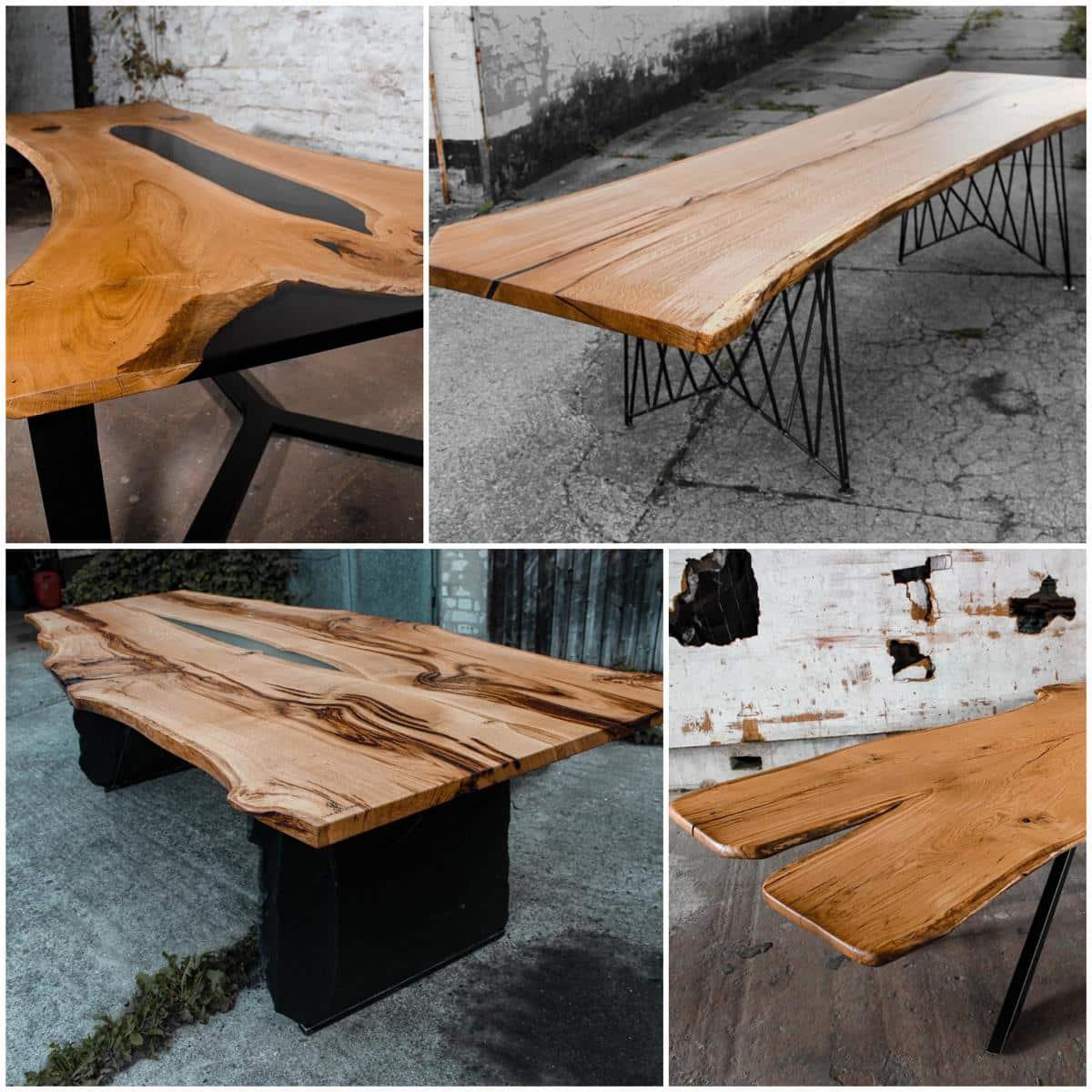 Style Hannover oakbrother Collage Tische - Oakbrother - einzigartige & nachhaltige Massivholz-Objekte