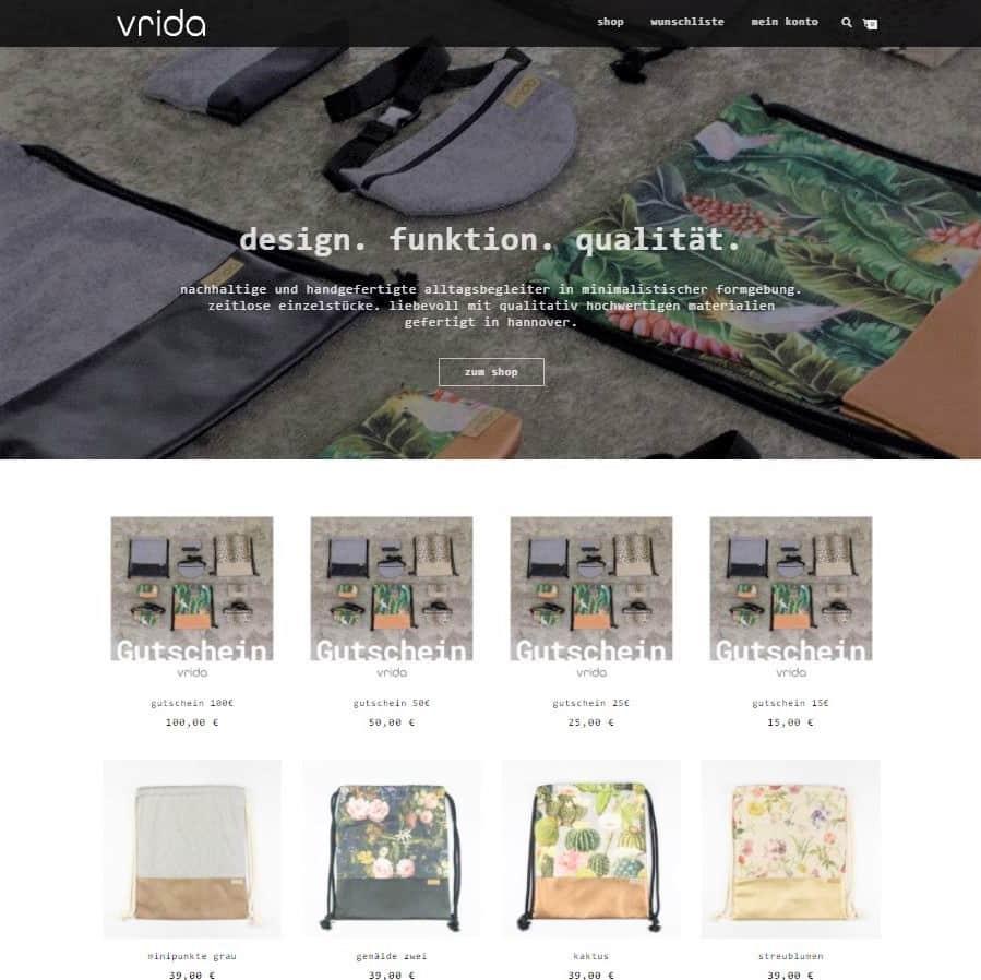 Style Hannover vrida online shop B - vrida - ONLINE Shop