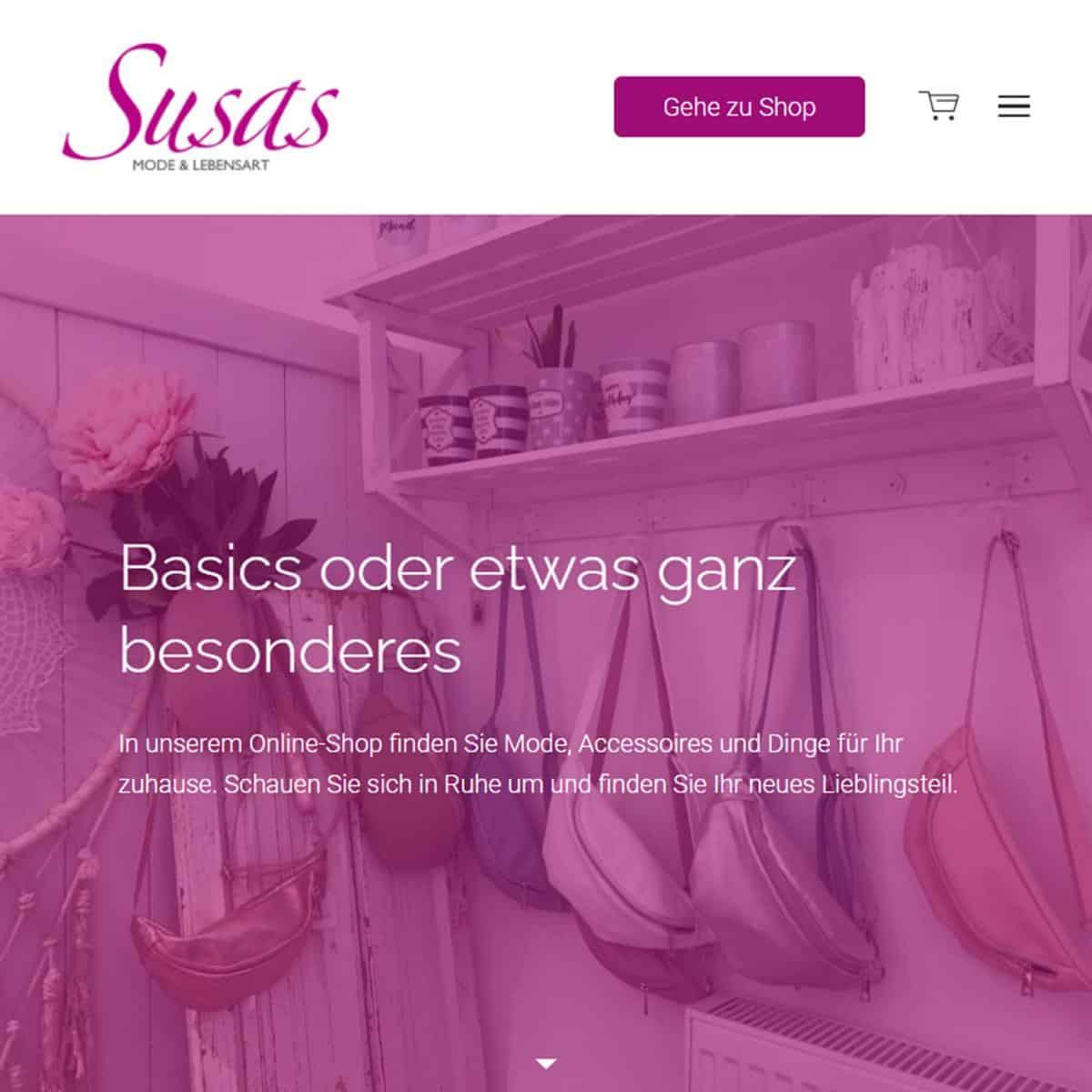Style Hannover Susas Online Shop B - Susas Mode & Lebensart - ONLINE Shop